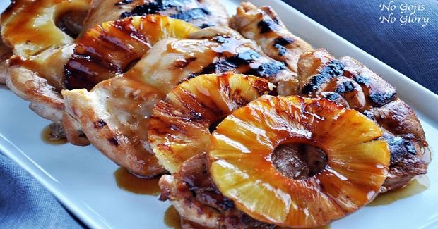 Pineapple Glazed Chicken Teriyaki Recipe
