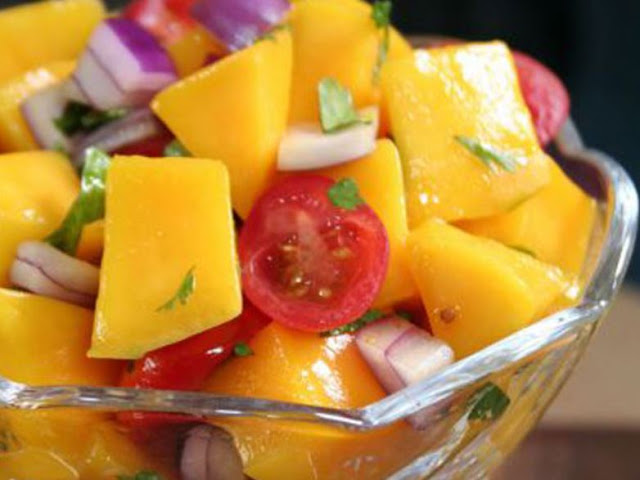 CEVICHE TROPICAL DE MANGO