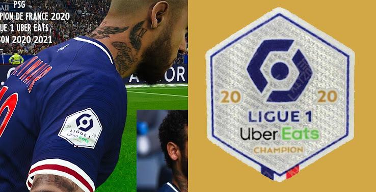 New Uber Ligue 1 20 21 Sleeve Badges Released Footy Headlines
