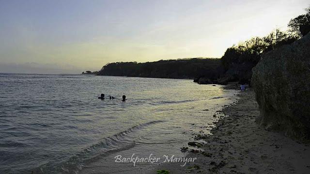 Sore di Pantai Geger Bali