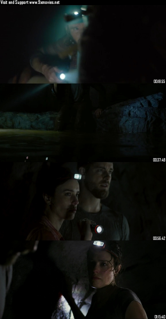 Black Water Abyss 2020 Dual Audio Hindi 720p 480p WEB-DL [800MB 300MB]