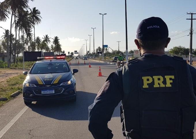PRF inicia Operação Carnaval 2021 no Rio Grande do Norte