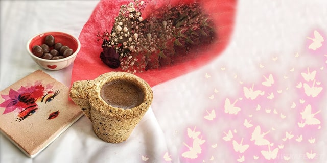 evde yenilebilir kahve fincanı yapımı - www.kahvekafe.net