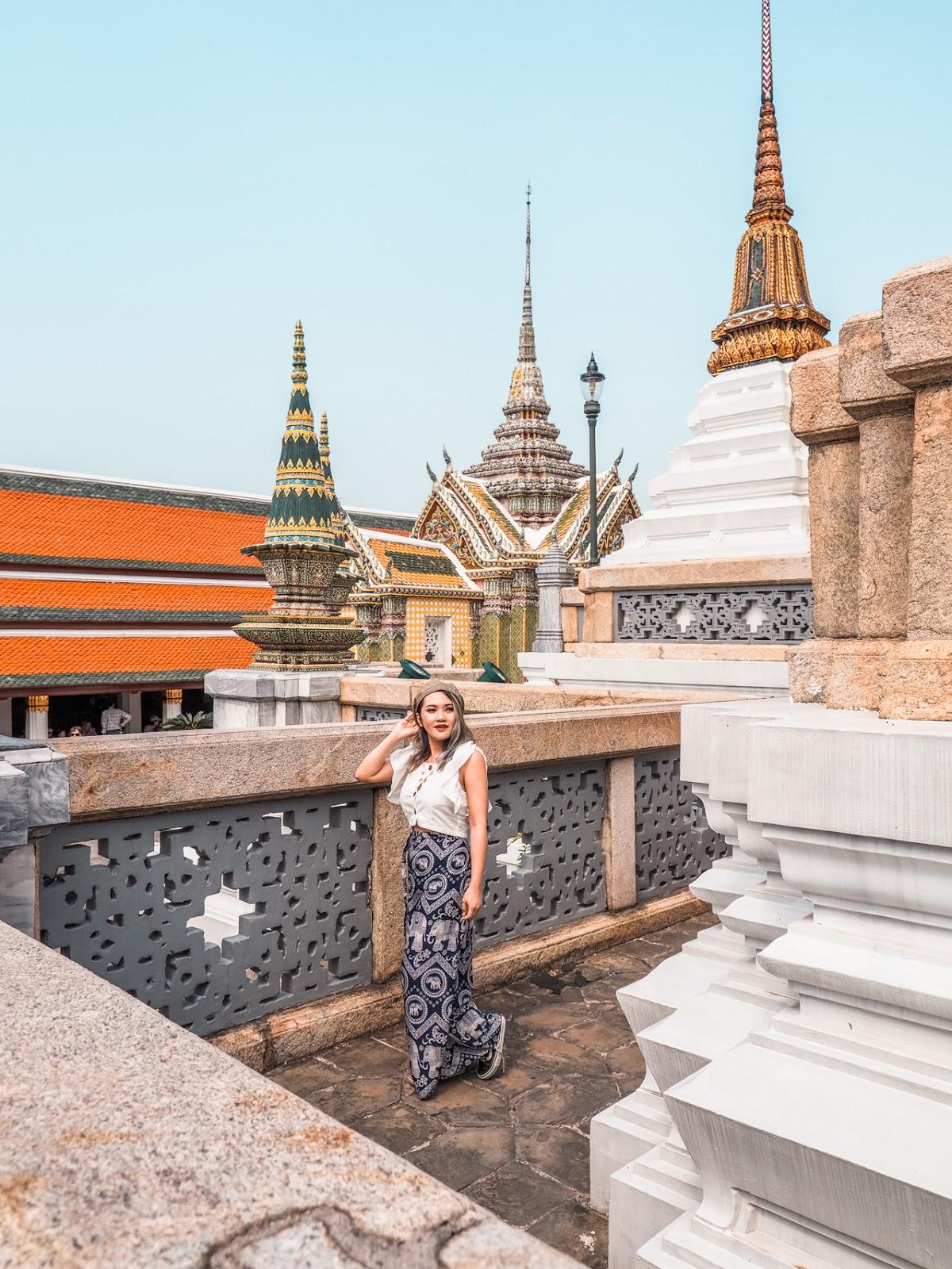 Wat Phra keaw instagramable corner