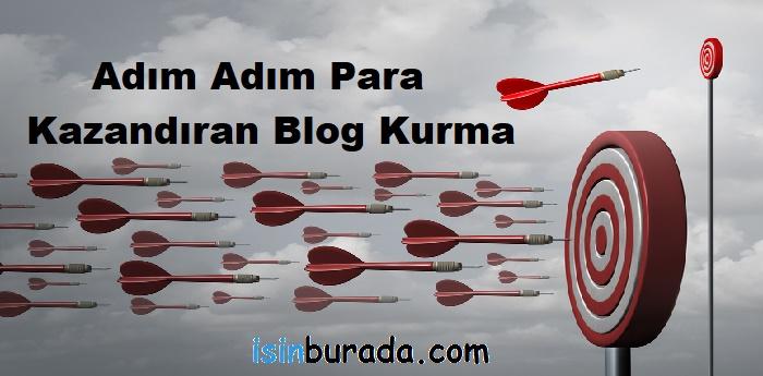 Adım Adım Para Kazandıran Blog Kurma