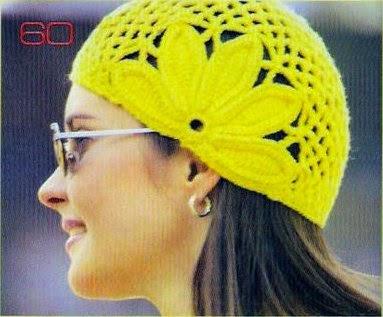 Gorro Tejido Al Crochet Con Patrón Y Diagrama Crochet Y Dos