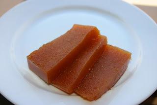 Delicious Andalucian Cooking Carne de Membrillo - Quince Jam