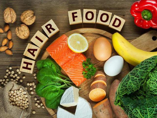 makanan penyehat rambut