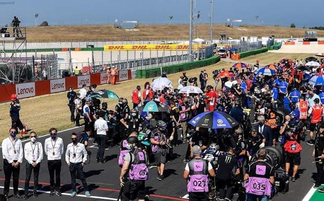 Starting Grid MotoGP Emilia Romagna Misano 2020