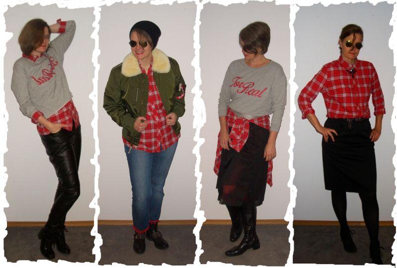 Wie style ich Karos - Hier Lumberjack-Check