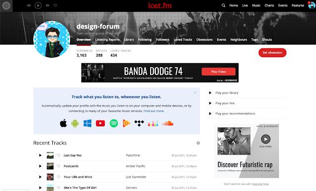 Graphic Design Forum Joins Last FM