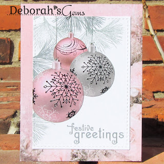 Festive Greetings sq - photo by Deborah Frings - Deborah's Gems