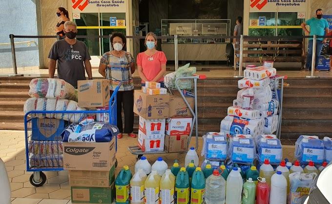 Comunidade Luterana faz doação de insumos à Santa Casa de Araçatuba