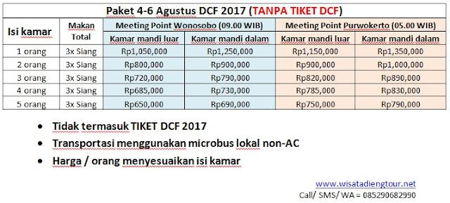 daftar harga paket dcf murah 2017