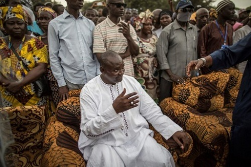 Wild Jubiliation as Adama Barrow Wins Gambian Presidential Election Defeating Jammeh Who Ruled for 22 Years