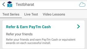 testbharat paytm cash offer