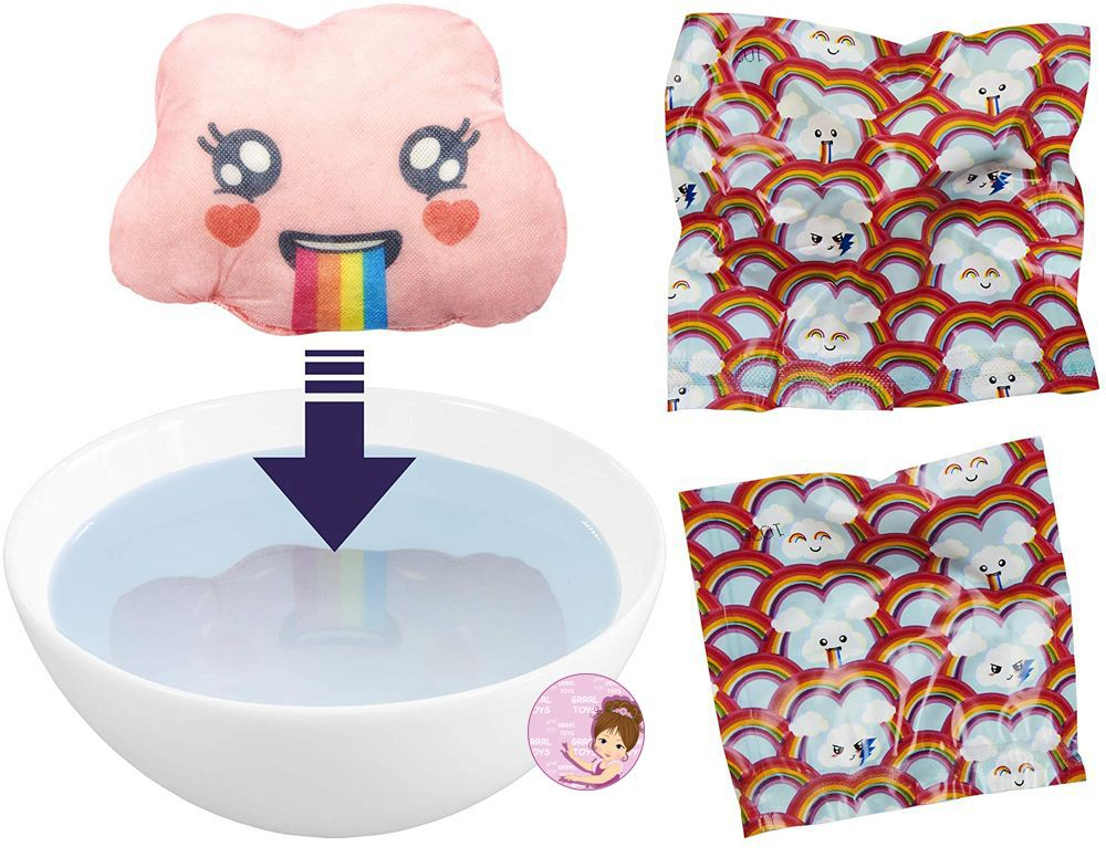 New collectibles for girls from Spin Master rainbow clouds with mystery accessories
