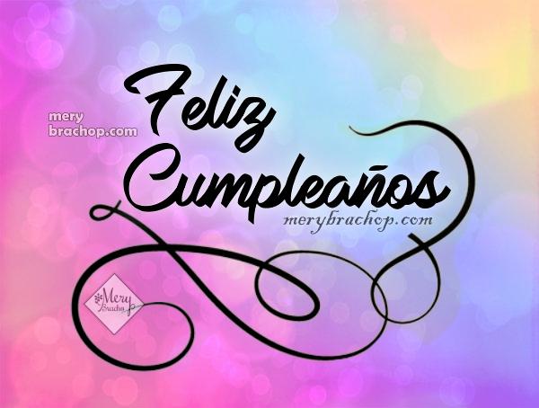 Frases feliz cumpleaños para felicitar imagen bonita