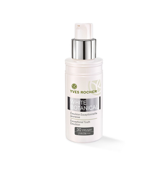 Yves Rocher White Botanical Exceptional Youth Emulsion SPF30 PA+++
