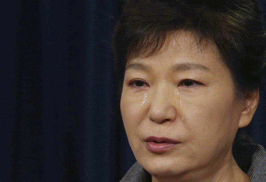 Park, ex-South Korean president, arrested and jailed