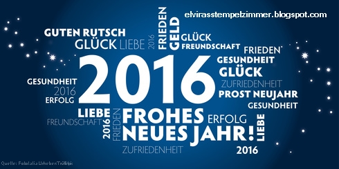 Die besten Wünsche fürs Neue Jahr ⋆ Elviras Stempelzimmer