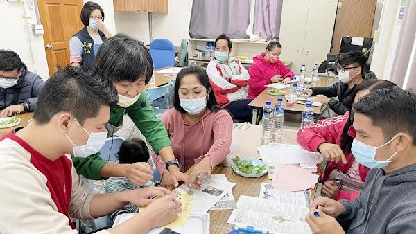 移民署彰化新住民家庭教育 園藝治療敲出幸福