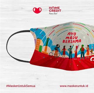 Masker motif Indonesia
