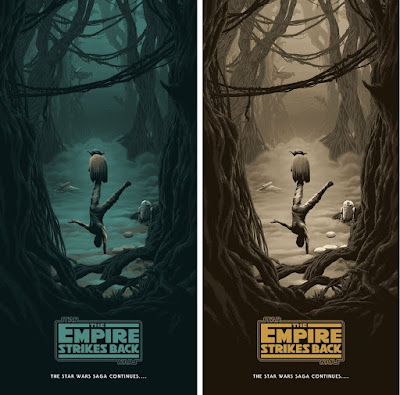 Star Wars: The Original Trilogy Screen Prints by Florey x Bottleneck Gallery