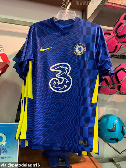 Nike Chelsea 21-22 Home Kit Leaked - Official Pictures - Footy Headlines