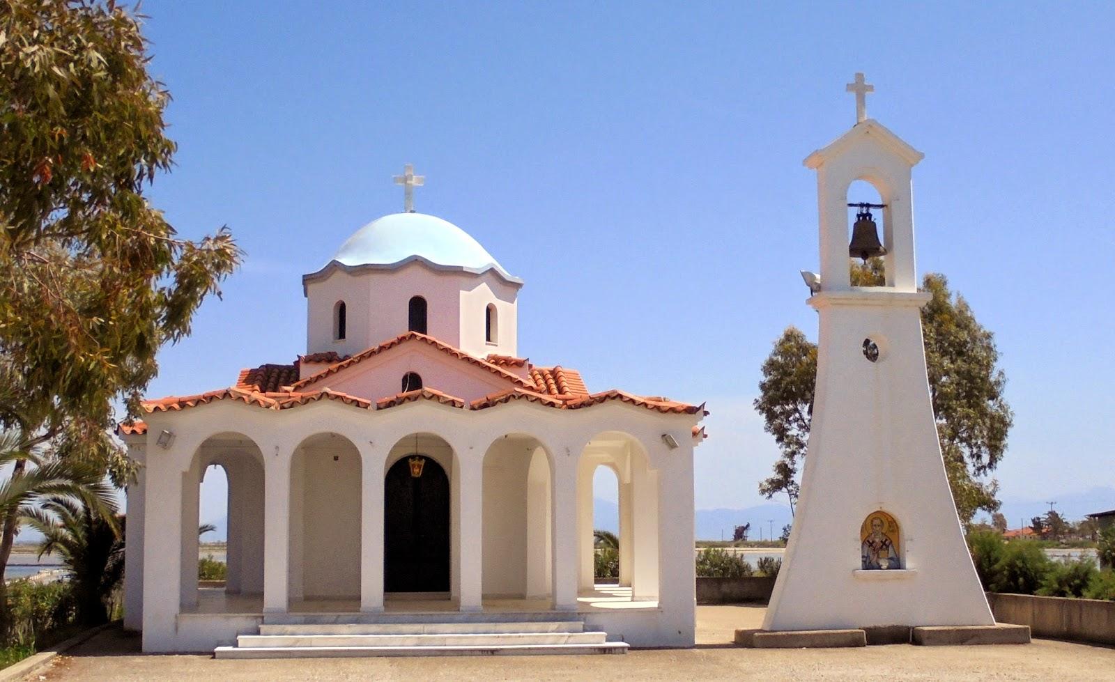 ο ναός του αγίου Νικολάου στην Τουρλίδα του Μεσολογγίου
