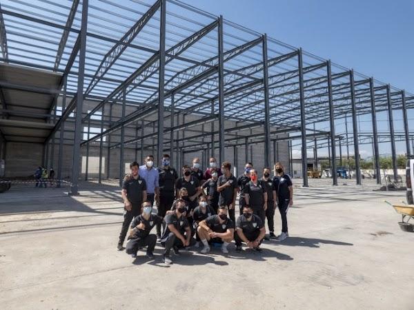La Escuela de Supercapacitad@s del Málaga CF visita SANAMAR Alimentación