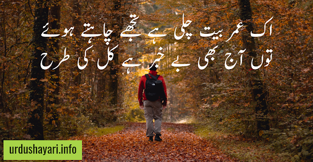 thori thori sad love shayri in urdu for gf and boyfriend - 2 line poetry for