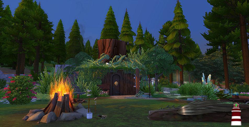 บ้านน่ารัก the sims 4 บ้านสวย the sims 4
