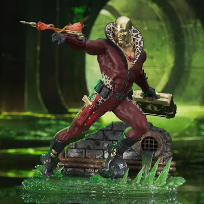 "G.I. Joe ""Pimp Daddy"" Destro Gallery Diorama Statue by Diamond Select Toys"