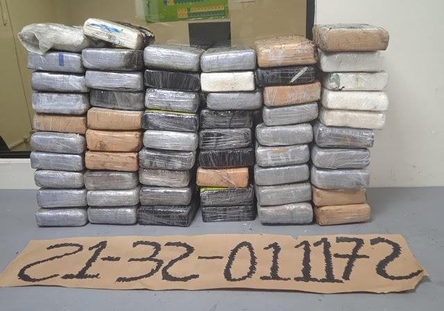 Incautan paquetes de cocaina en Puerto de HainaOriental