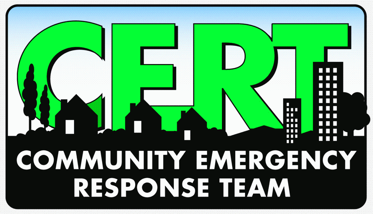 San Diego County CERT Community Emergency Response Team logo
