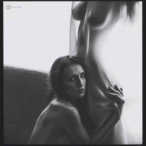 Dan Hecho 500px fotografia mulheres modelos sensuais nudez azul arte fetiche lésbicas provocante