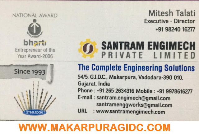 SANTRAM ENGIMECH PVT LTD - 9824016277