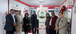 أسرة «معًا هنكمل المشوار» تستقبل عمرو السنباطي مرشح مجلس النواب