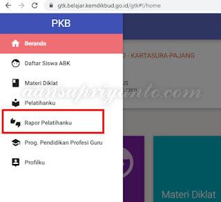 Rapor PKP, Berikut Cara Melihatnya