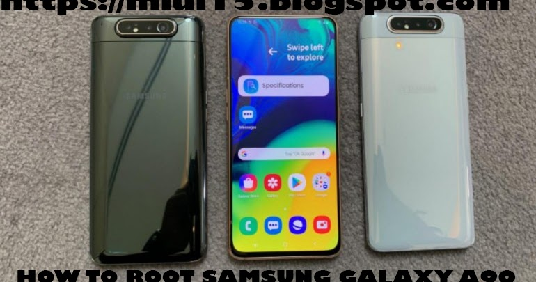 How to Root Samsung galaxy A90 and flash TWRP Recovery | MIUI15
