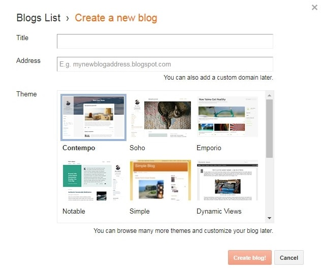 Blogger Par Free Blog Kaise Banaye
