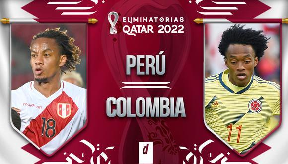 Perú vs. Colombia: ver EN DIRECTO las Eliminatorias Qatar 2022