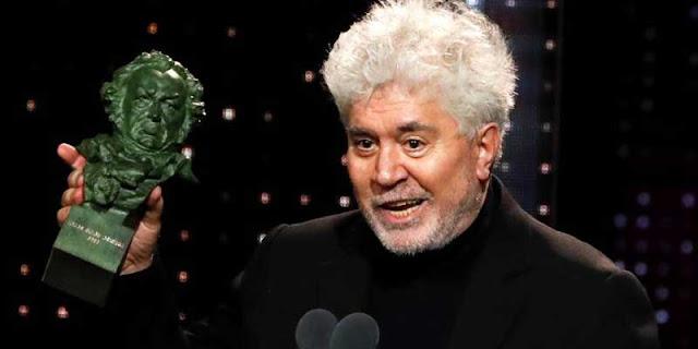 Almodovar triunfador Premios Goya 2020