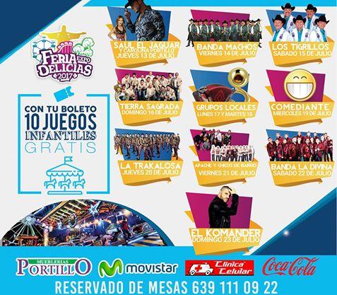programa feria expo delicias 2017
