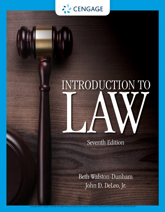 Introduction to Law, 7th Edition