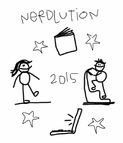 A Year of Reading: Time to Begin: #Nerdlution15