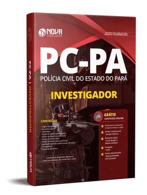 Apostila Concurso PC PA 2020 PDF Edital Online Inscrições Investigador PC PA 2020