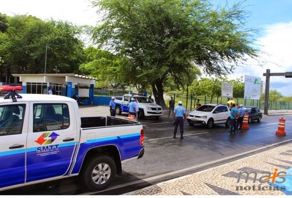 SMTT intensifica blitz em todo o município de Delmiro Gouveia