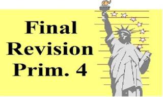 المراجعة النهائية فى اللغة الانجليزية للصف الرابع الابتدائى الترم الاول من كتاب Teacher موقع درس انجليزي